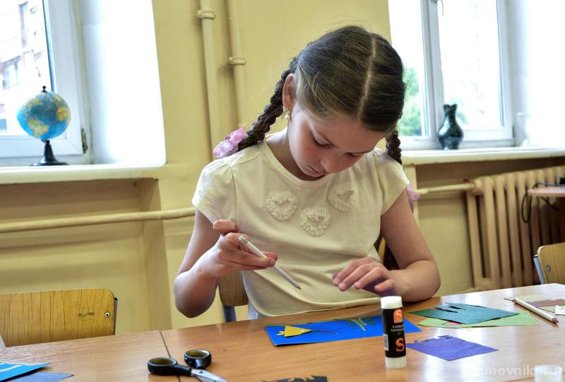 Мастер-класс по гравюре состоялся в библиотеке имени Гайдара