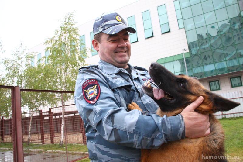 Обученные собаки помогут следить за порядком на станции «Лужники»