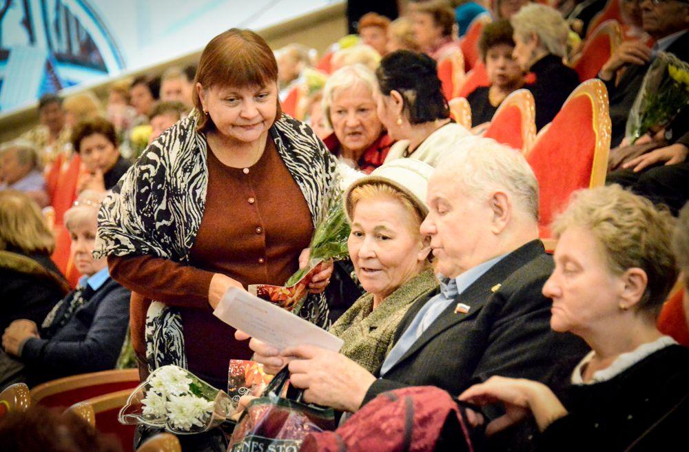 Горожан пригласили отметить День пожилого человека во Дворце «На Стопани»