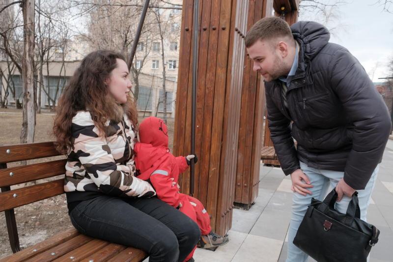 Поквартирный опрос жителей Москвы устроят представители программы «Мой район»
