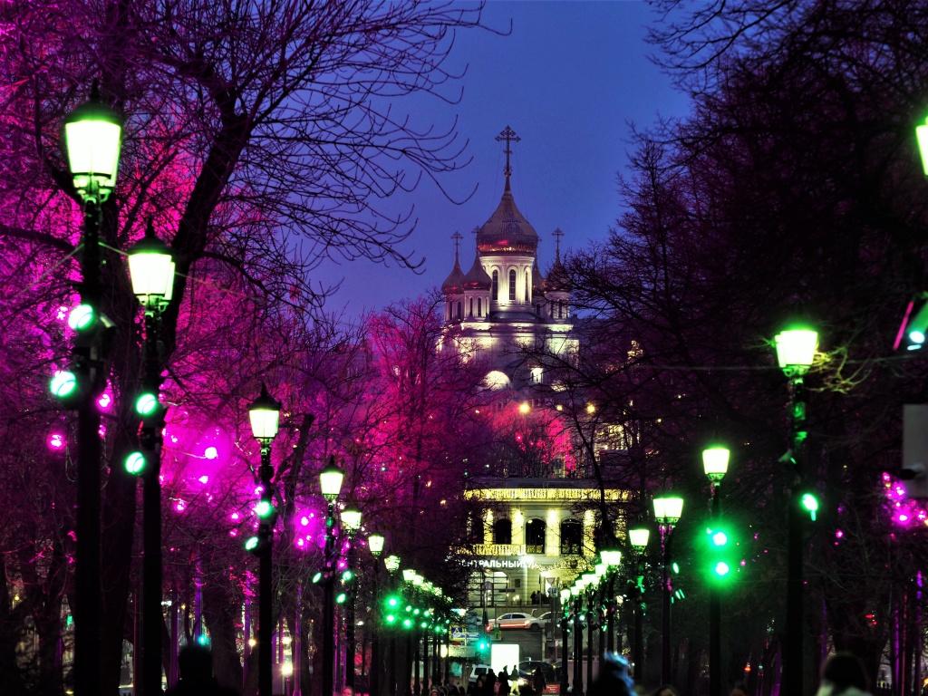 Подсветку к Новому году в столице включат в середине декабря